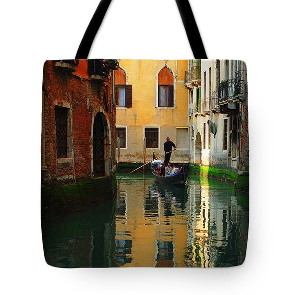 Venice Reflections Tote Bag by Bob Christopher