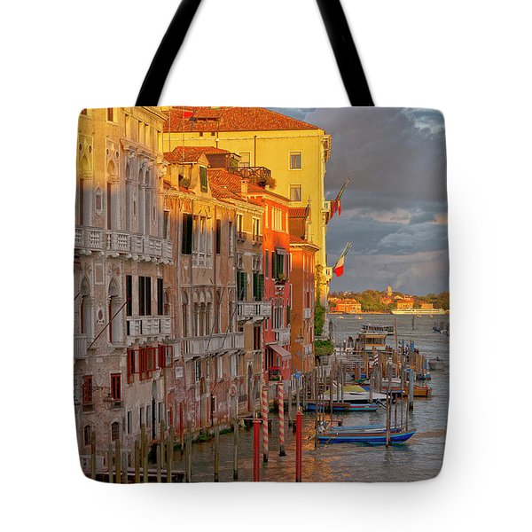 Venice Romantic Evening Tote Bag by Heiko Koehrer-Wagner