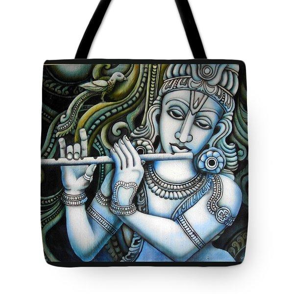 Venugopala Tote Bag by Vishwajyoti Mohrhoff