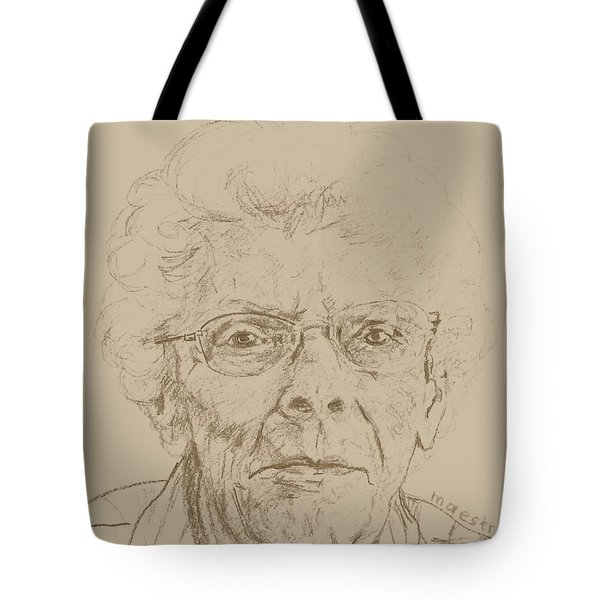 Vera Tote Bag by PainterArtistFINs Husband MAESTRO