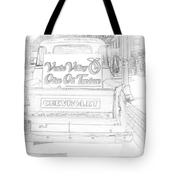 Verde Valley Olive Oil Arizona Tote Bag by Janice Rae Pariza