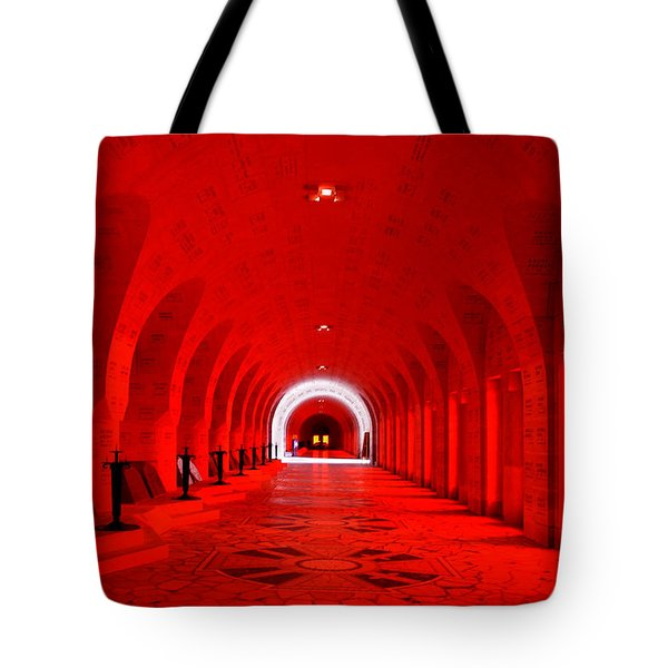 Verdun Ossuary Tote Bag by Joanna Madloch