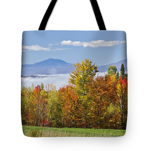 Vermont October Morning Tote Bag by Alan L Graham