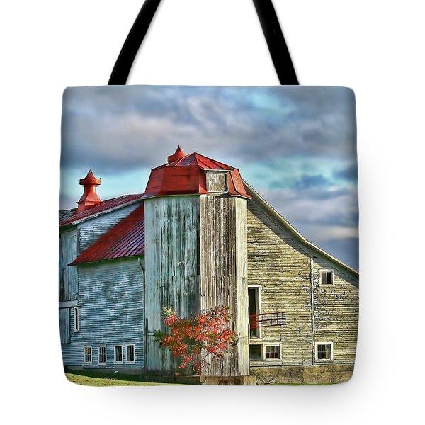 Vermont Rustic Beauty Tote Bag by Deborah Benoit