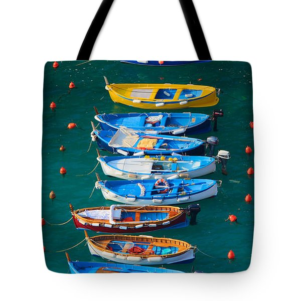 Vernazza Armada Tote Bag by Inge Johnsson