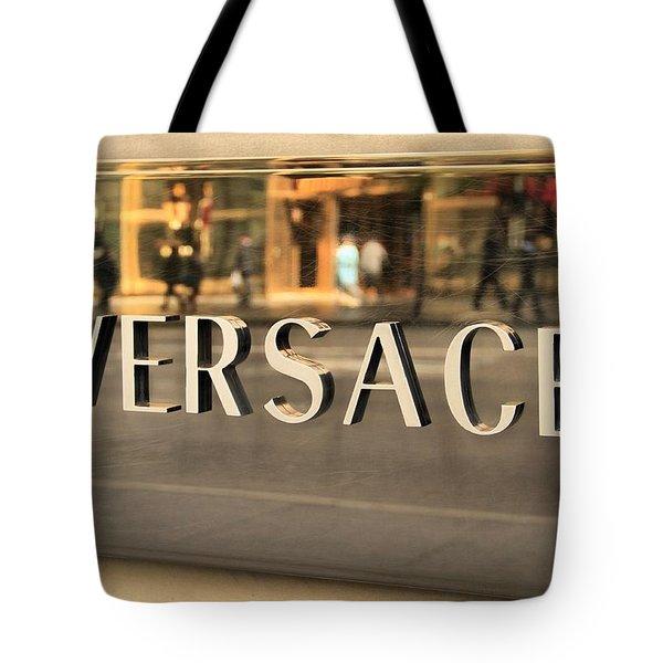 Versace Tote Bag by Dan Sproul