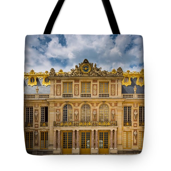 Versailles Courtyard Tote Bag by Inge Johnsson