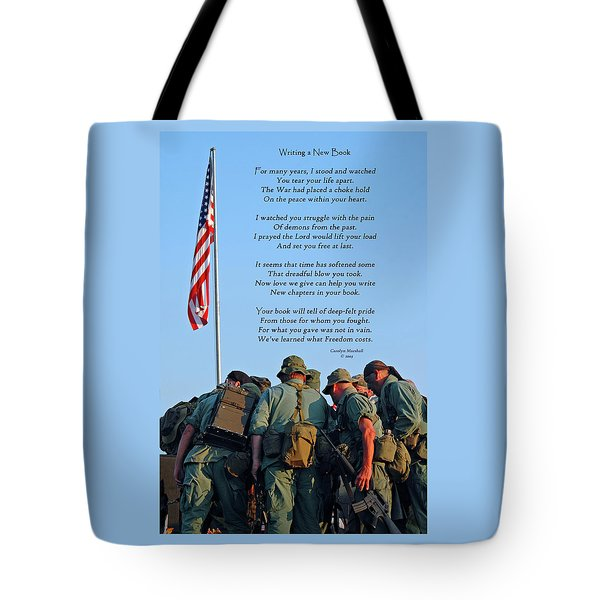 Veterans Remember Tote Bag by Carolyn Marshall