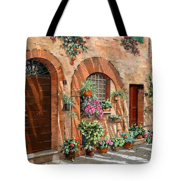 Viaggio In Toscana Tote Bag by Guido Borelli