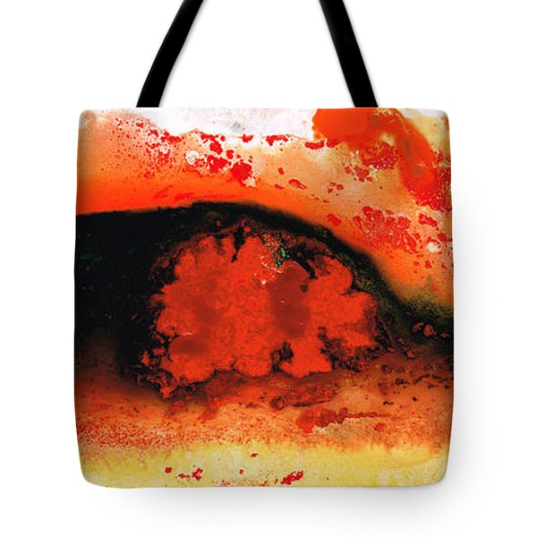 Vibrant Abstract Art - Leap Of Faith By Sharon Cummings Tote Bag by Sharon Cummings