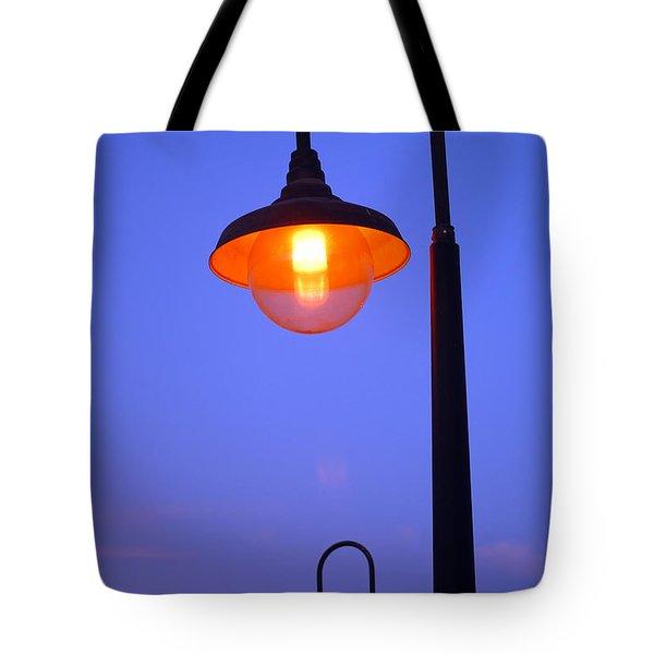 Vibrant Contrast Tote Bag by Debra Thompson