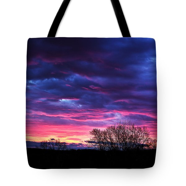 Vibrant Sunrise Tote Bag by Tim Buisman