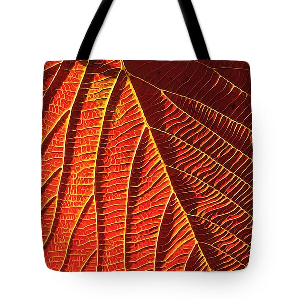Vibrant Viburnum Tote Bag by Bill Caldwell -        ABeautifulSky Photography