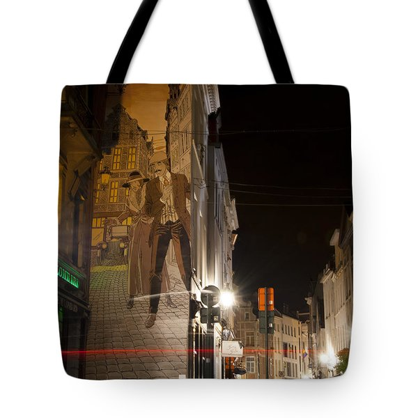 Victor Sackville Tote Bag by Juli Scalzi