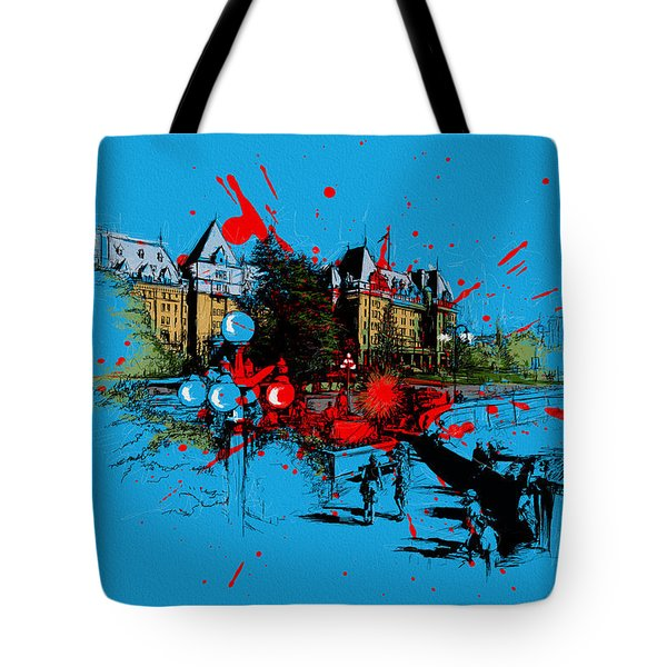 Victoria Art 003 Tote Bag by Catf