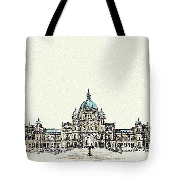 Victoria Art 004 Tote Bag by Catf