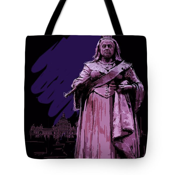 Victoria  Art 008 Tote Bag by Catf