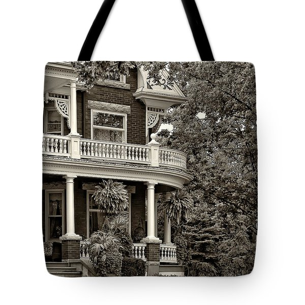 Victorian Classic Sepia Tote Bag by Steve Harrington
