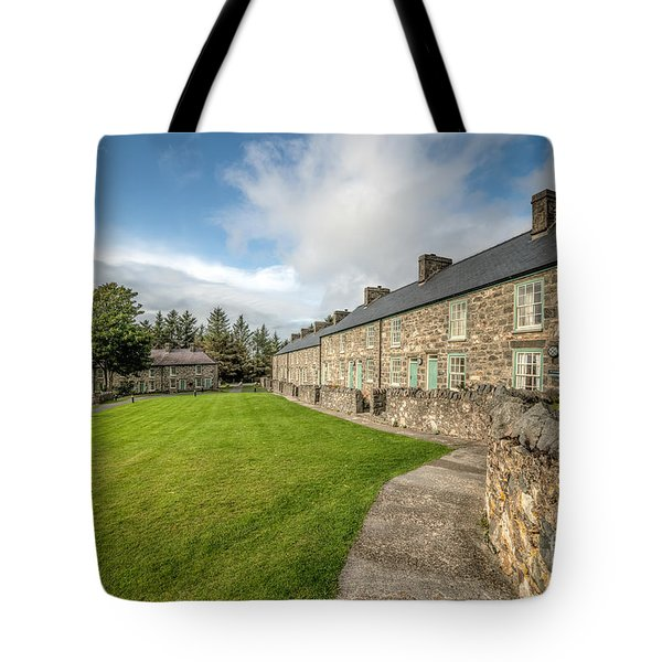 Victorian Cottages Tote Bag by Adrian Evans