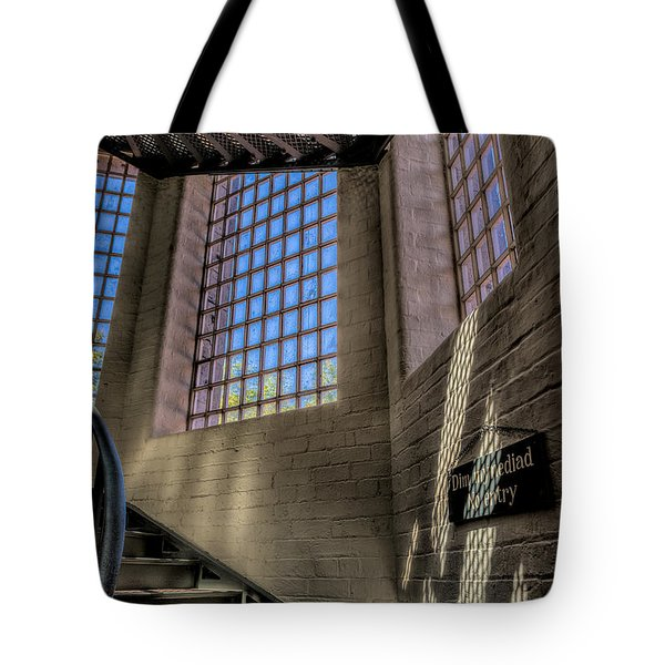 Victorian Jail Staircase Tote Bag by Adrian Evans