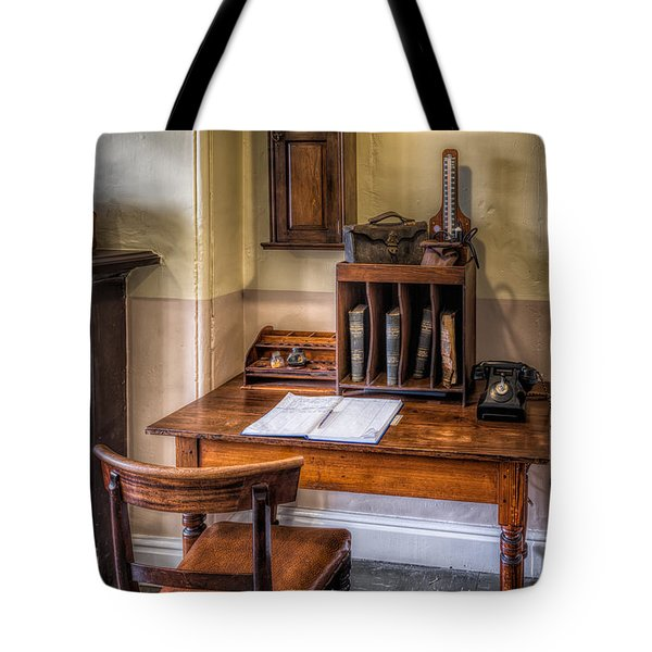 Victorian Medical Office Tote Bag by Adrian Evans