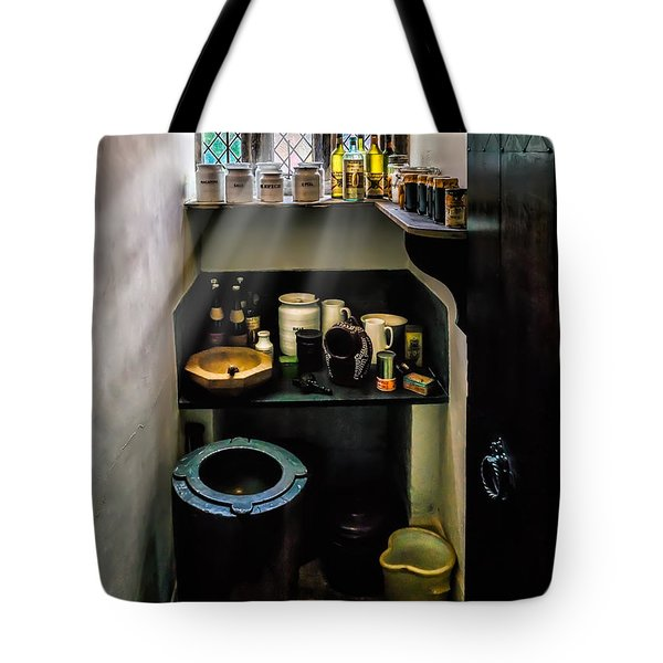 Victorian Pantry Tote Bag by Adrian Evans