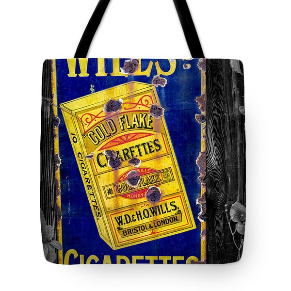 Victorian Sign Tote Bag by Adrian Evans