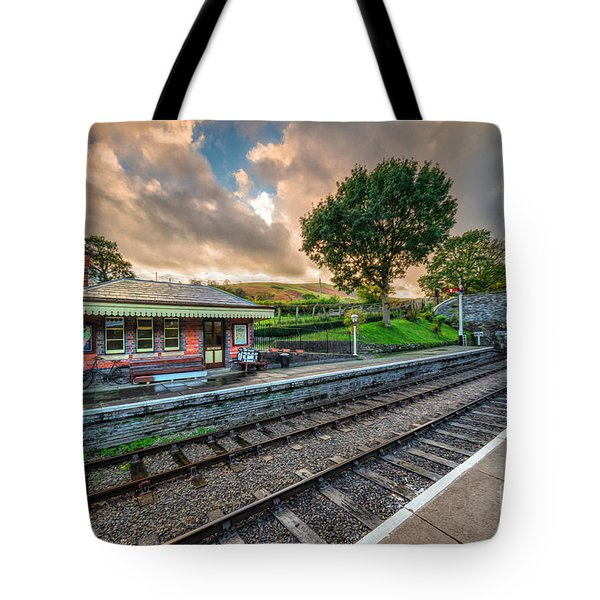 Victorian Station Tote Bag by Adrian Evans