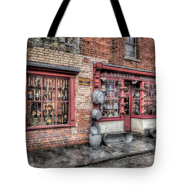 Victorian Stores England Tote Bag by Adrian Evans