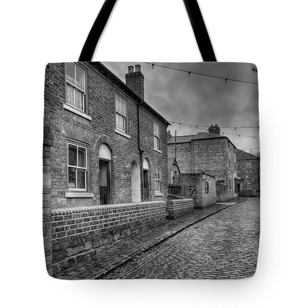 Victorian Street Tote Bag by Adrian Evans