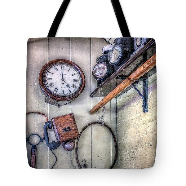 Victorian Train Memorabilia Tote Bag by Adrian Evans