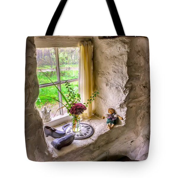Victorian Window Tote Bag by Adrian Evans