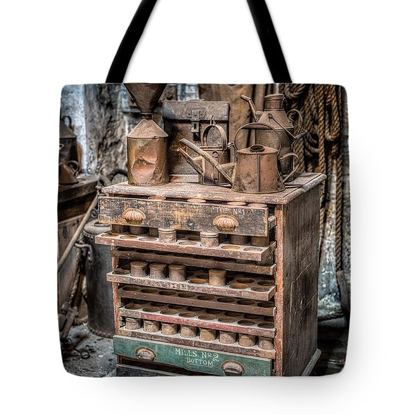 Victorian Workshop Tote Bag by Adrian Evans