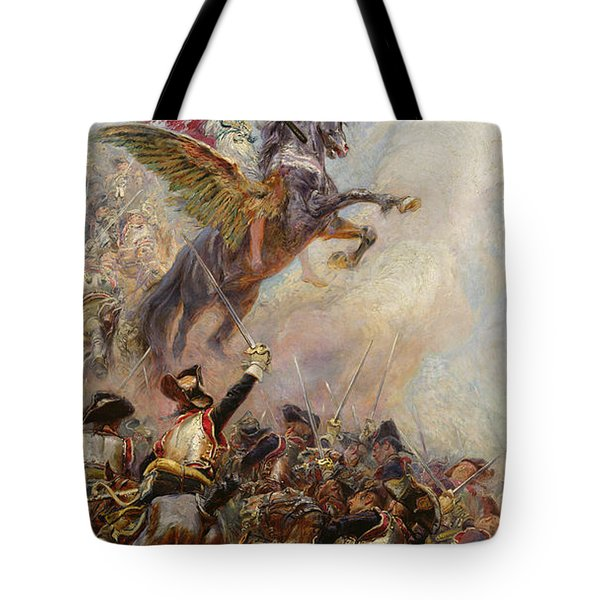 Victory Tote Bag by Jean-Baptiste Edouard Detaille