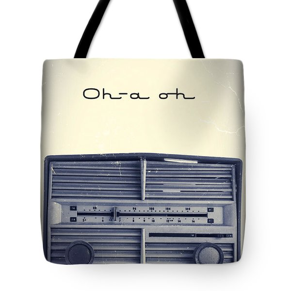 Video Killed The Radio Star Tote Bag by Edward Fielding