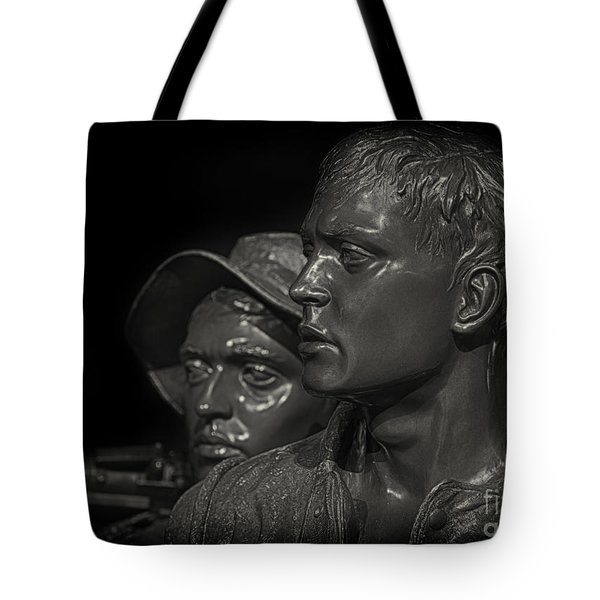 Vietnam Memorial No. 1 Tote Bag by Jerry Fornarotto