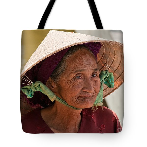 Vietnamese Lady Tote Bag by Rick Piper Photography