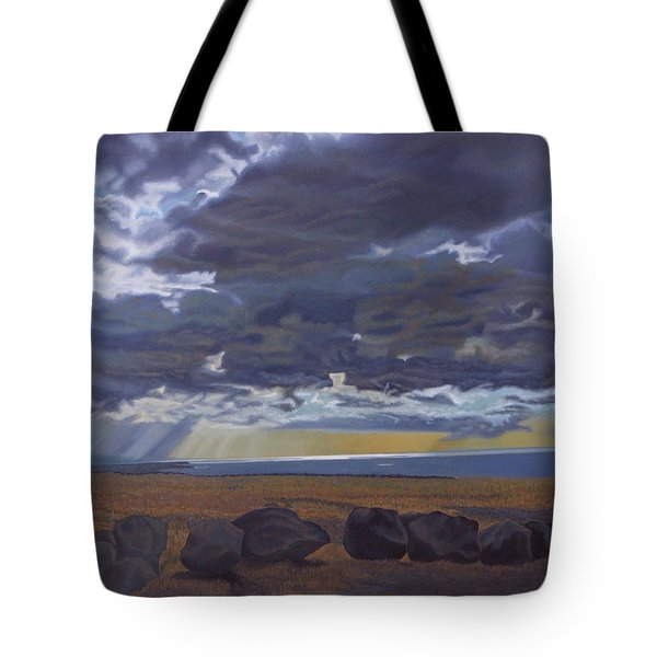 View From Spencer Tote Bag by Thu Nguyen