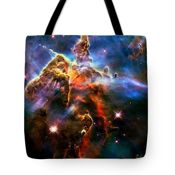 View Of Pillar And Jets Hh 901902 Tote Bag by Amanda Struz