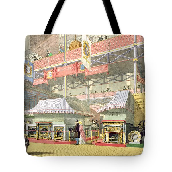 View Of The Sheffield Hardware Stand Tote Bag by English School