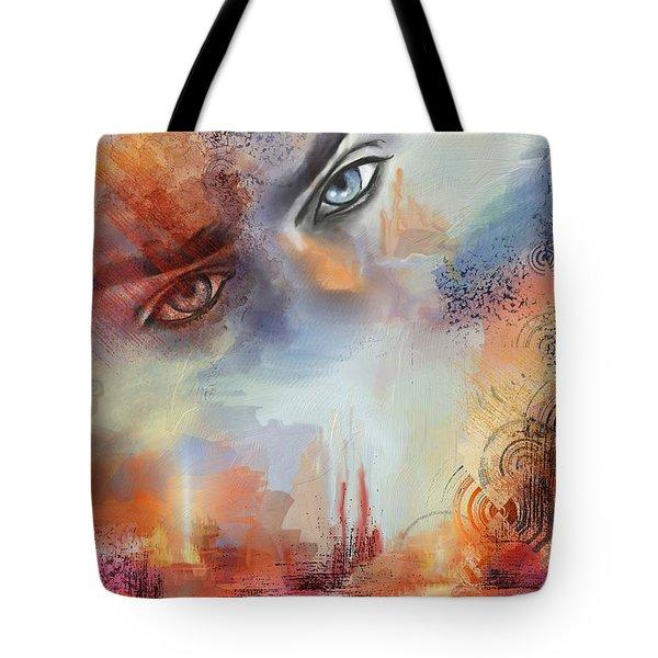 Vigile Tote Bag by Francoise Dugourd-Caput