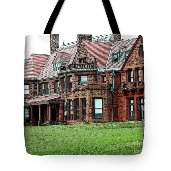 Villa Tote Bag by Kathleen Struckle