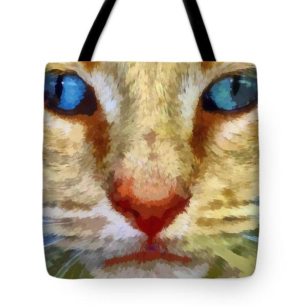 Vincent Tote Bag by Michelle Calkins