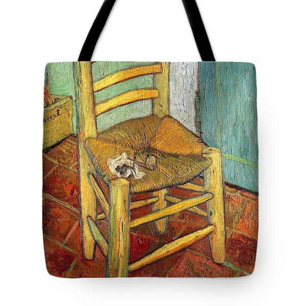 Vincent's Chair 1888 Tote Bag by Vincent van Gogh