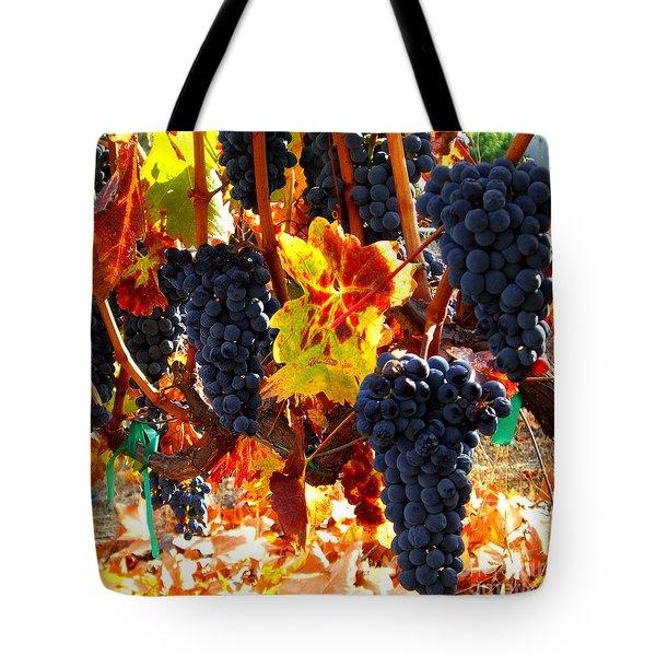 Vineyard 8 Tote Bag by Xueling Zou