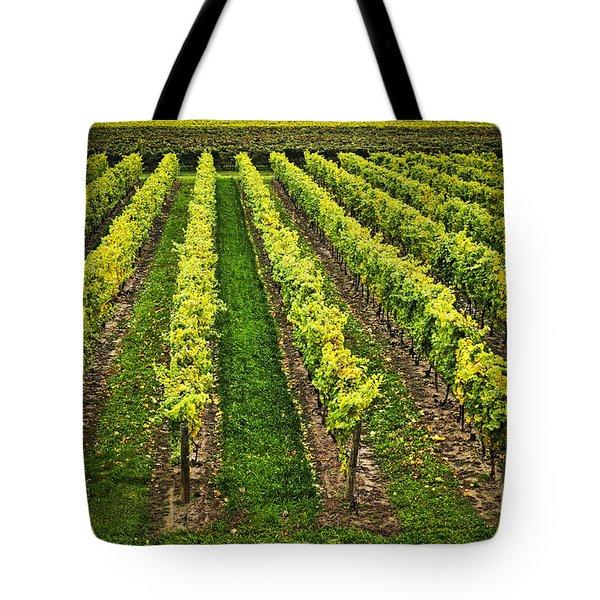 Vineyard Tote Bag by Elena Elisseeva