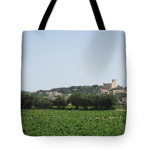 Vineyard In Provence Tote Bag by Pema Hou