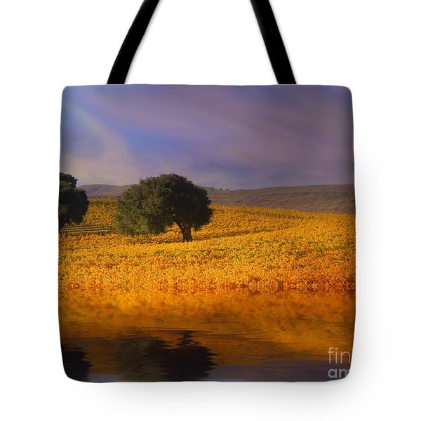 Vineyard Magic Tote Bag by Stephanie Laird