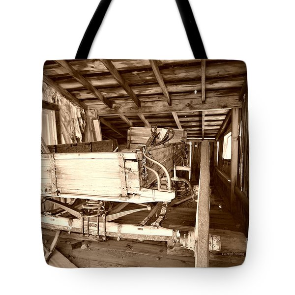 Vintage Barn Finds Tote Bag by Cheryl Young