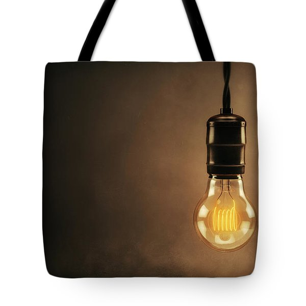Vintage Bright Idea Tote Bag by Scott Norris